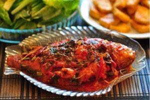 Chia sẻ cách nấu món cá chép sốt cà chua ngon