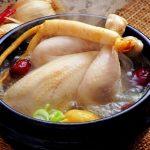 Học nấu canh gà táo đỏ