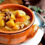 súp khoai tây thịt bò