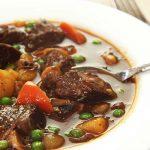 Bò hầm đậu Hà Lan