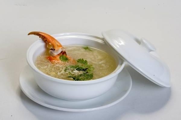 súp cua biển