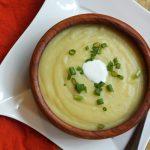 súp khoai tây