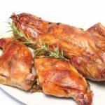 Món thịt thỏ nướng