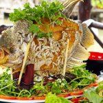 Món cá tai tượng chiên xù