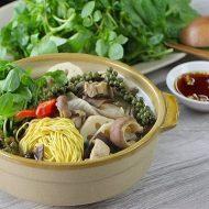 Cách Nấu Món Lẩu Bao Tử Nấu Tiêu Xanh Ấm Bụng