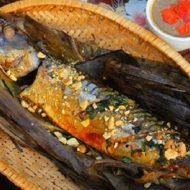 Cách Làm Cá Nục Nướng Lá Chuối Bếp Than Hoa Thơm Ngon