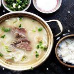 cách chế biến sup xương hàn quốc
