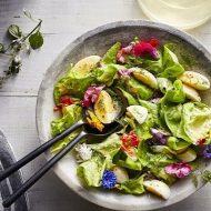 Học Làm Salad Rau Xà Lách Giữ Eo Đẹp, Dáng Thon