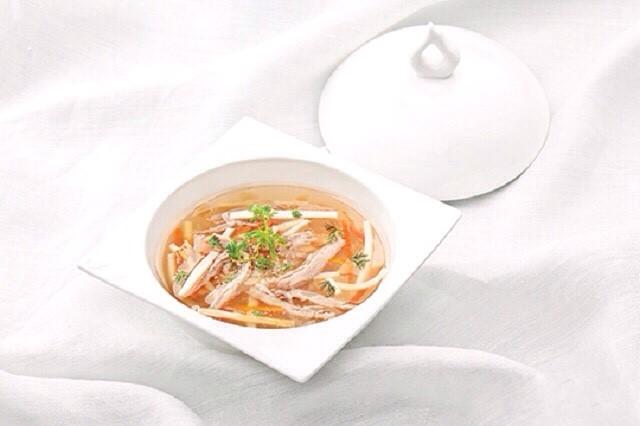 cách làm sup vịt quay