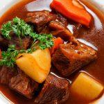 thịt bò xốt vang