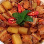 thịt kho củ cải