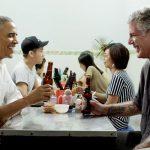 Anthony Bourdain và Obama