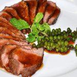 Thịt bò xốt tiêu xanh