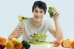 thực đơn giảm béo cho nam