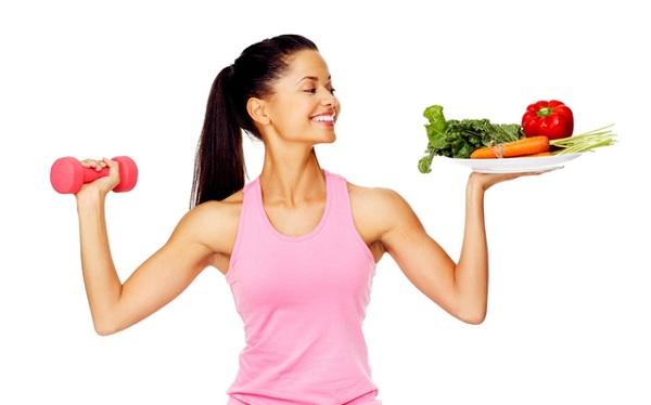 Ăn kiêng kết hợp tập thể dục